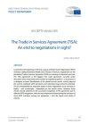 European parliament report on TiSA