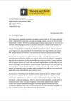 Letter to Liz Truss regarding UK-Kenya deal