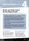 Brexit and trade justice for the global south