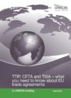 UNISON Briefing on CETA, TTIP and TISA