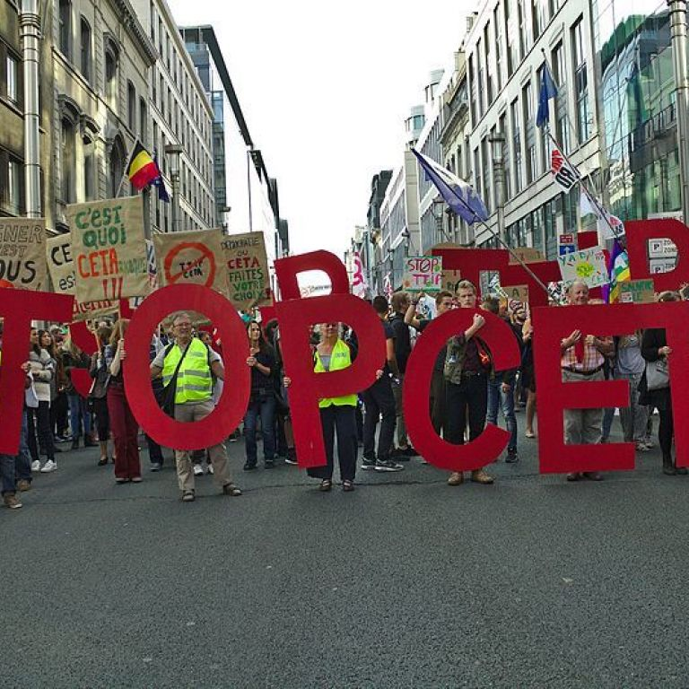 Stop Ttip Ceta Protest In Brussels 20 09 2016 06